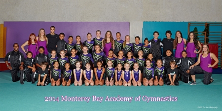 Monterey Bay Academy of Gymnastics. ©2014 Ken Doo Photography